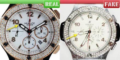 đồng hồ Hublot dây trắng chất lượng