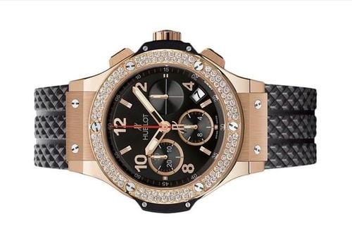 Mẫu đồng hồ Hublot Big Bang Gold Diamonds Chronograph