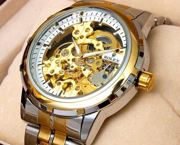 Lý do lựa chọn đồng hồ Rolex Automatic lộ máy