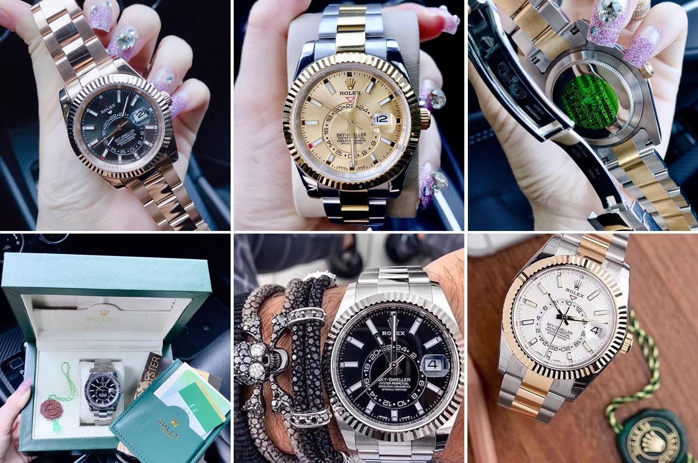 Lưu ý quan trọng khi lựa chọn đồng hồ Rolex Automatic