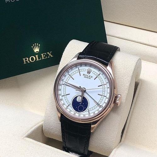 Có nên mua đồng hồ Rolex cơ dây da hay không?