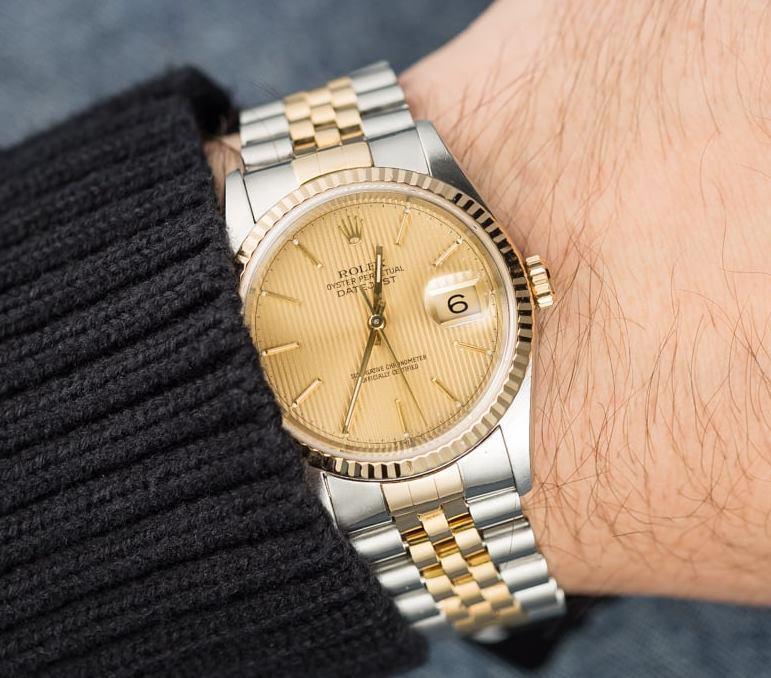 Lưu ý bảng giá khi chọn đồng hồ Rolex Datejust 16233