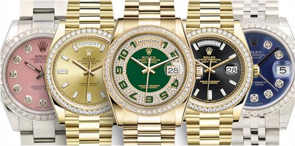 3 điểm đáng chú ý về những mẫu đồng hồ Rolex đính đá