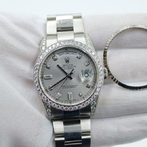 Mua đồng hồ Rolex đính đá nam ở đâu bảo đảm chất lượng?