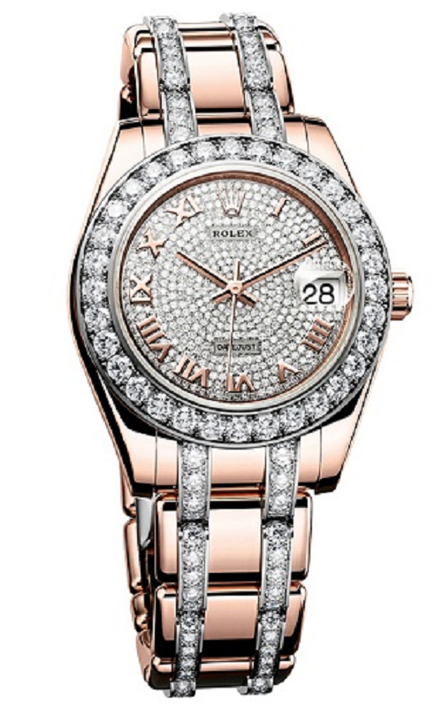 Tại sao đồng hồ rolex đính kim cương được đánh giá cao?
