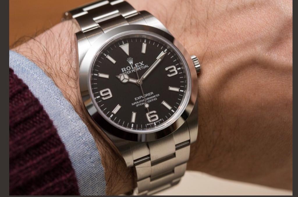 Đồng hồ Rolex Explorer – Tôn vinh đẳng cấp phái mạnh
