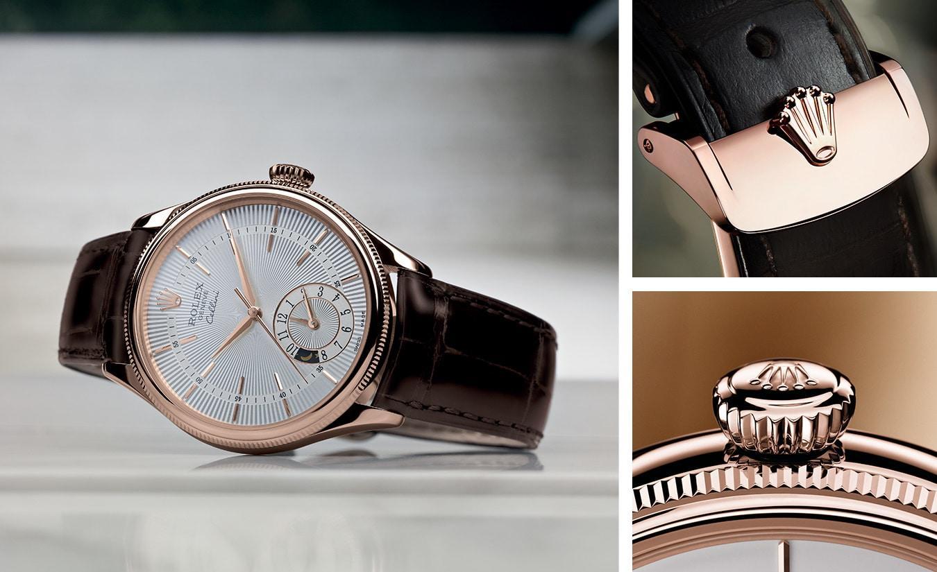 """Trầm trồ với vẻ ngoài """"chanh sả"""" và cực hút mắt của đồng hồ Rolex Geneve Cellini"""
