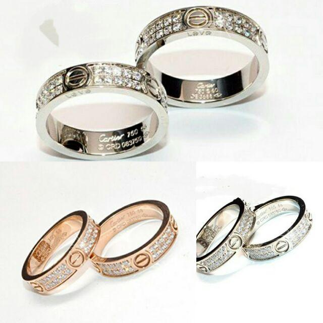 Mẫu nhẫn cartier 3 màu chuẩn sang trọng đẳng cấp-2