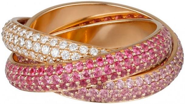 Choáng với bộ sưu tập mẫu nhẫn Cartier sang trọng và đẳng cấp