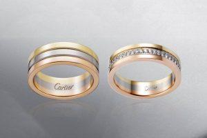 Các mẫu nhẫn cặp cartier đẹp – Được ưa chuộng trên thị trường