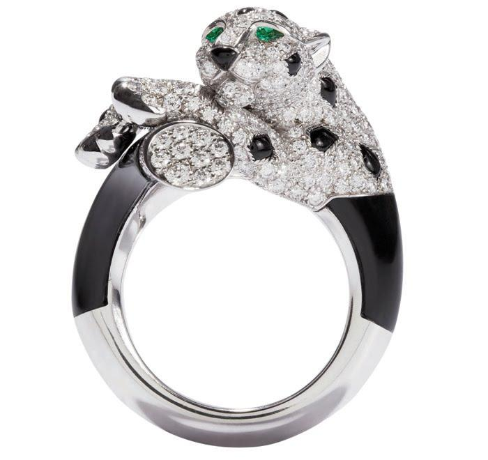 Đón may mắn ngày đầu năm khi đeo nhẫn cartier đầu báo-1