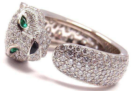 Đón may mắn ngày đầu năm khi đeo nhẫn cartier đầu báo