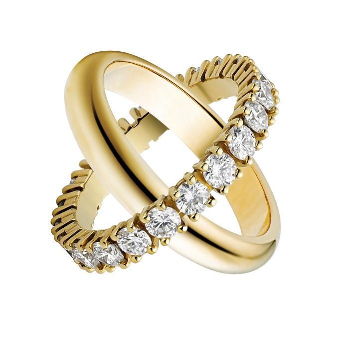 Nhẫn cartier đính đá vẻ đẹp của sự sang trọng
