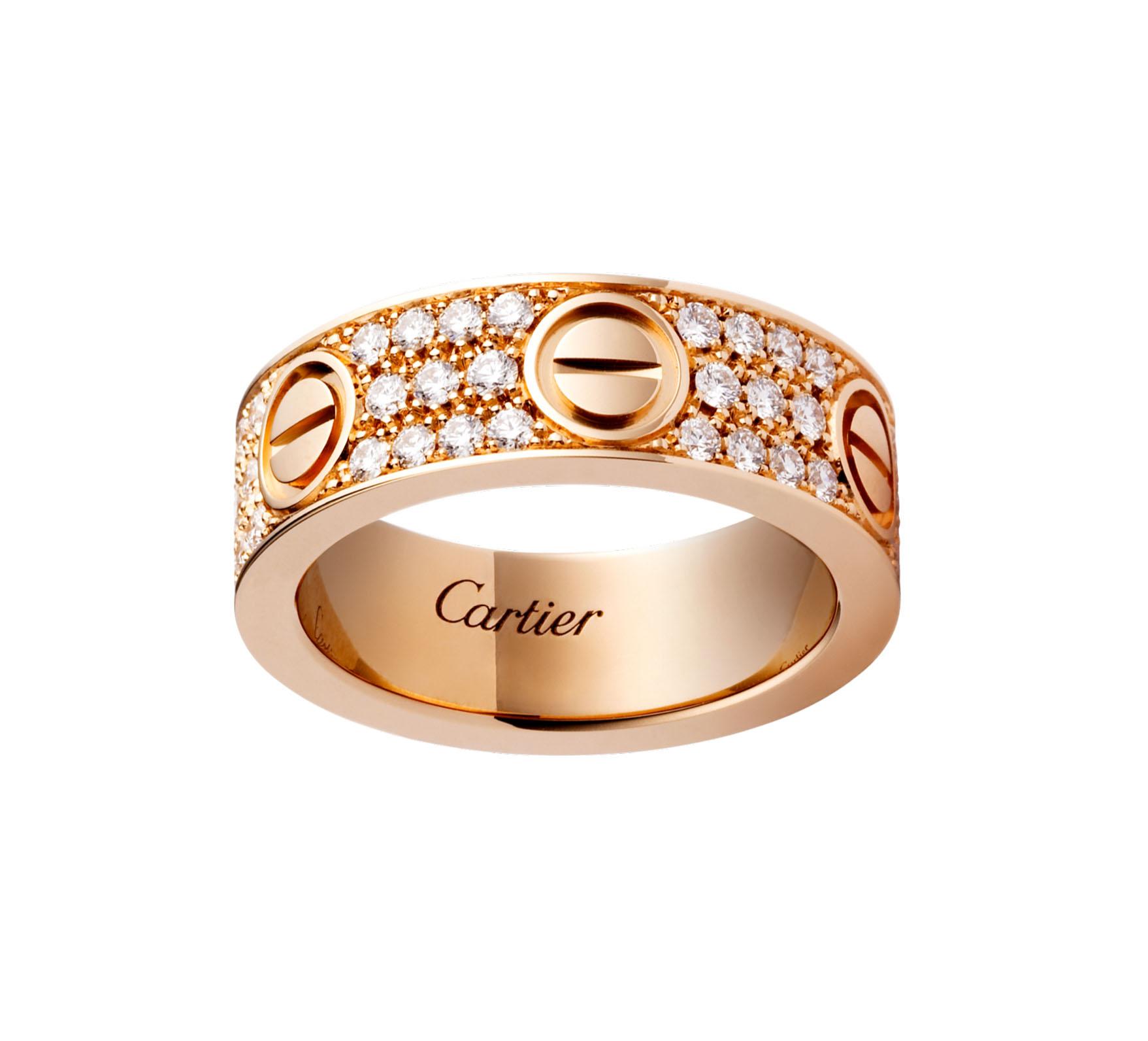 Nhẫn cartier love chính hãng – đặc điểm và ý nghĩa trong tình yêu