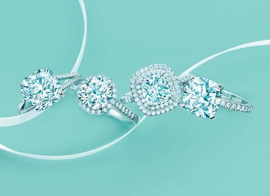 Nhẫn cầu hôn Tiffany & co đẳng cấp