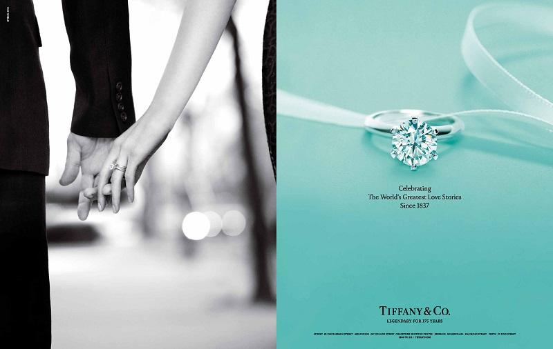 Nhẫn kim cương Tiffany & coNhẫn kim cương Tiffany & co