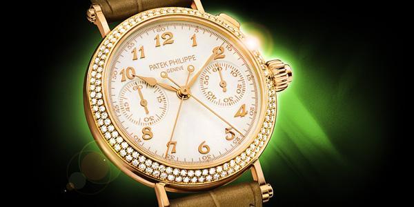 Đồng hồ patek philippe geneve dây da nữ -2