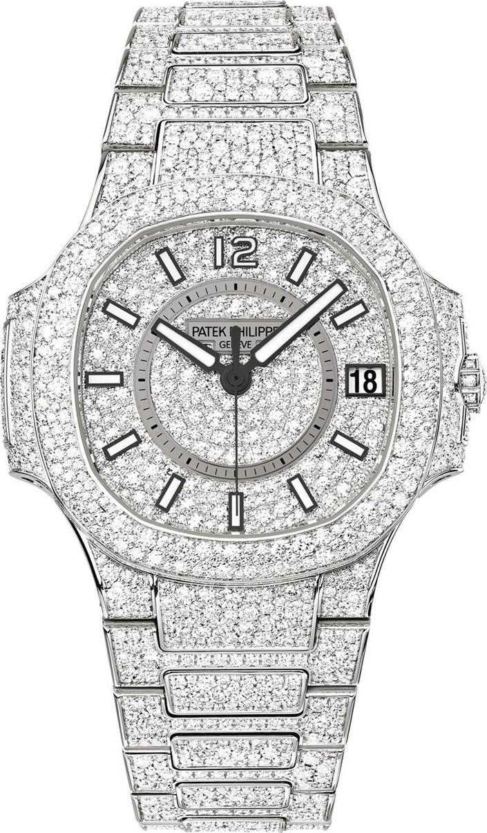 Đồng hồ Patek philippe Nautilus Rose Gold 7021/1R-001