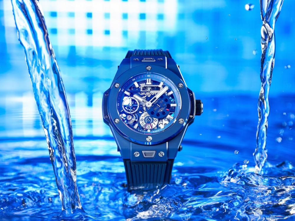 Điểm danh 3 đồng hồ Hublot màu xanh HOT nhất!