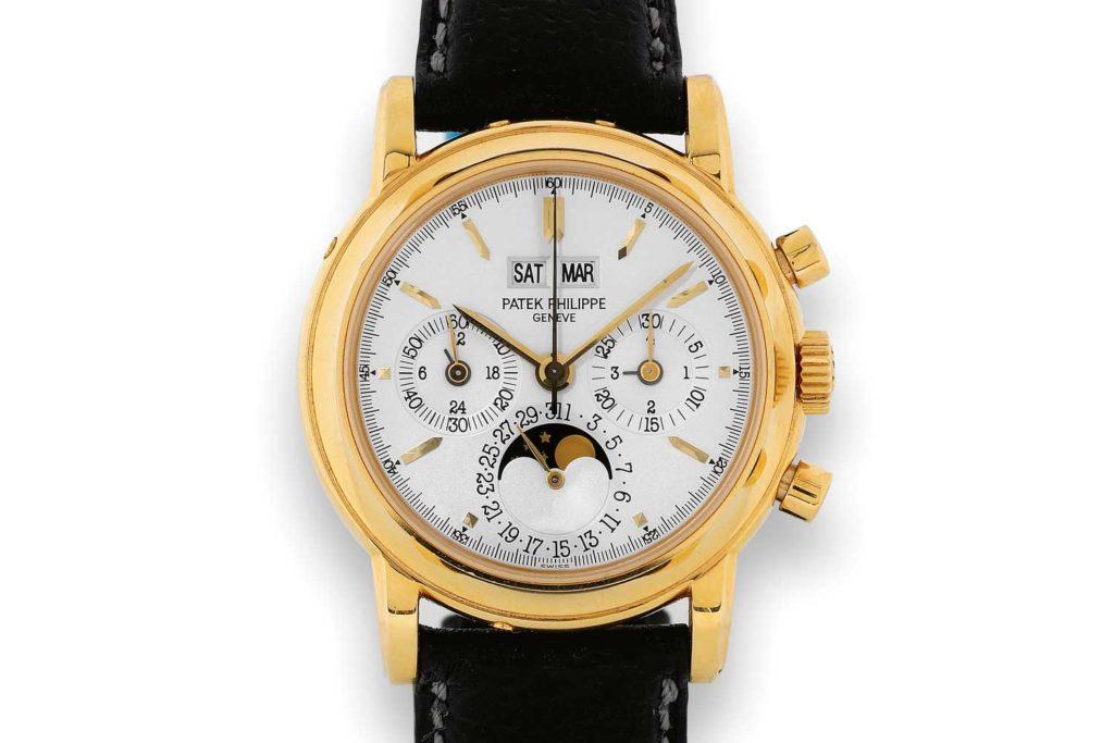 Lịch sử của đồng hồ Patek Philippe Perpetual Calendar Chronograph