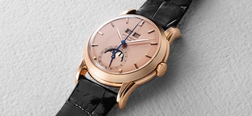 Ngỡ ngàng với chiếc đồng hồ bằng vàng hồng Patek Philippe Ref. 2497