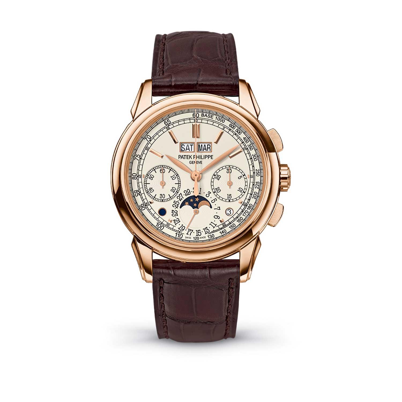 Cận cảnh chiếc đồng hồ Patek Philippe 5270 với bộ máy siêu đỉnh