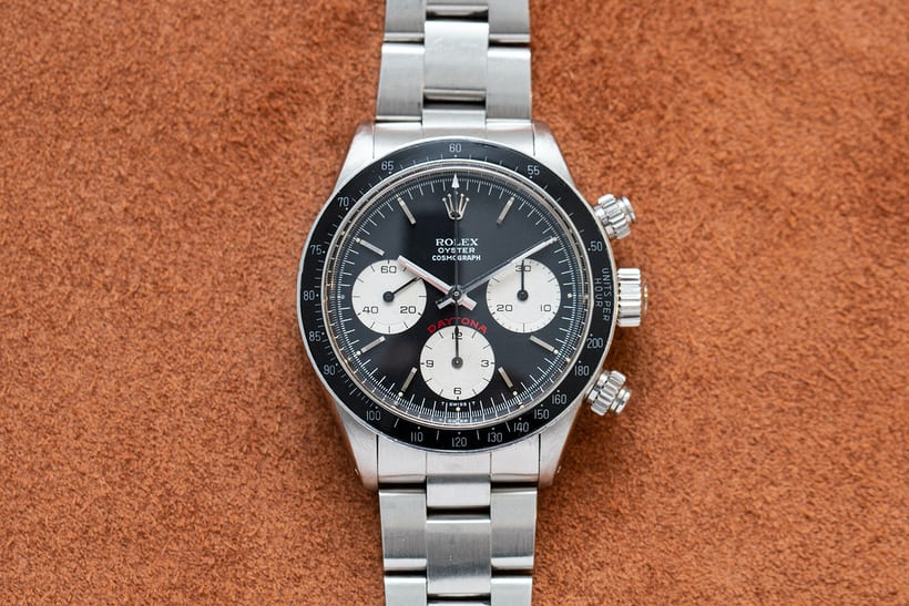 Review chi tiết đồng hồ Rolex Daytona Ref. 6263 của Paul Newman