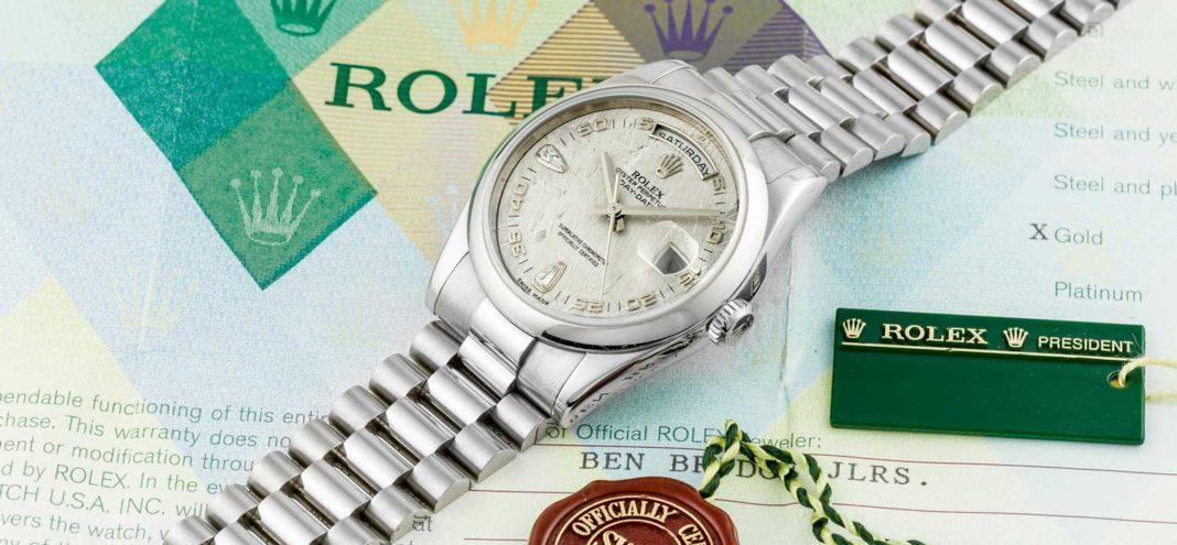 Đồng hồ Rolex Day-Date – Sự lựa chọn của những vị tổng thống