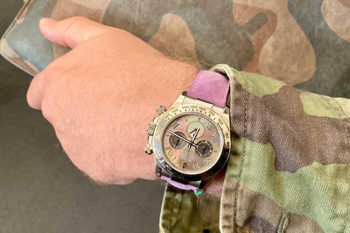 Mặt số đồng hồ Rolex Daytona Ref. 116519 có gì đặc biệt?