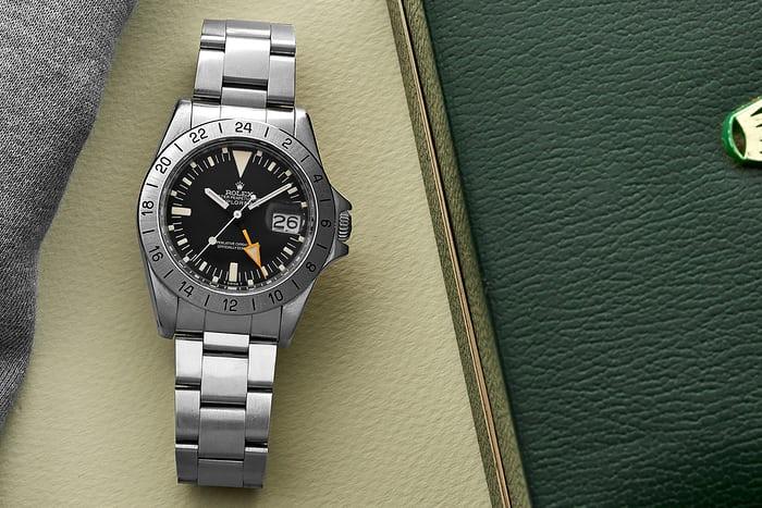 Cận cảnh chiếc đồng hồ Rolex Explorer II Ref. 1655