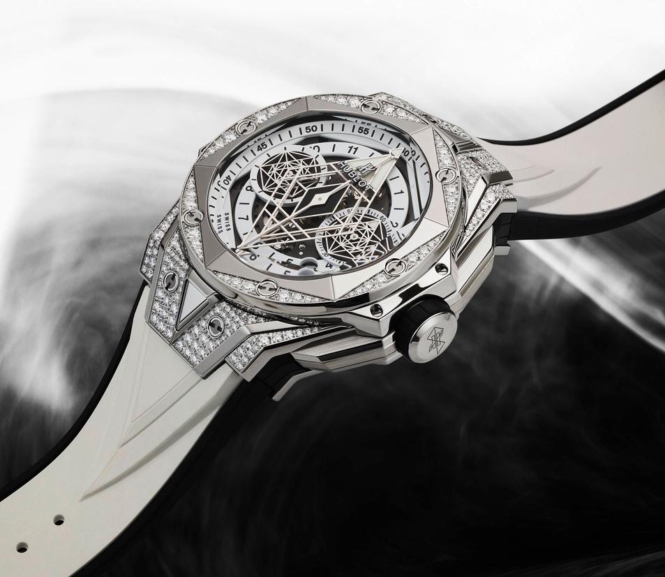 Hublot Big Bang Sang Bleu – Chiếc đồng hồ có hình xăm 3 chiều