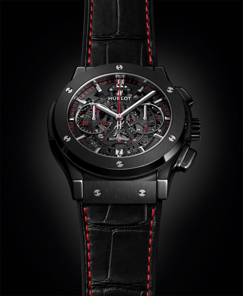 Hublot và Đồng hồ Thụy Sĩ hợp tác cho ra đời đồng hồ Classic Fusion Aerofusion