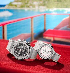 Đồng hồ đôi Hublot Fusion Eden Rock – cát trắng của thời gian