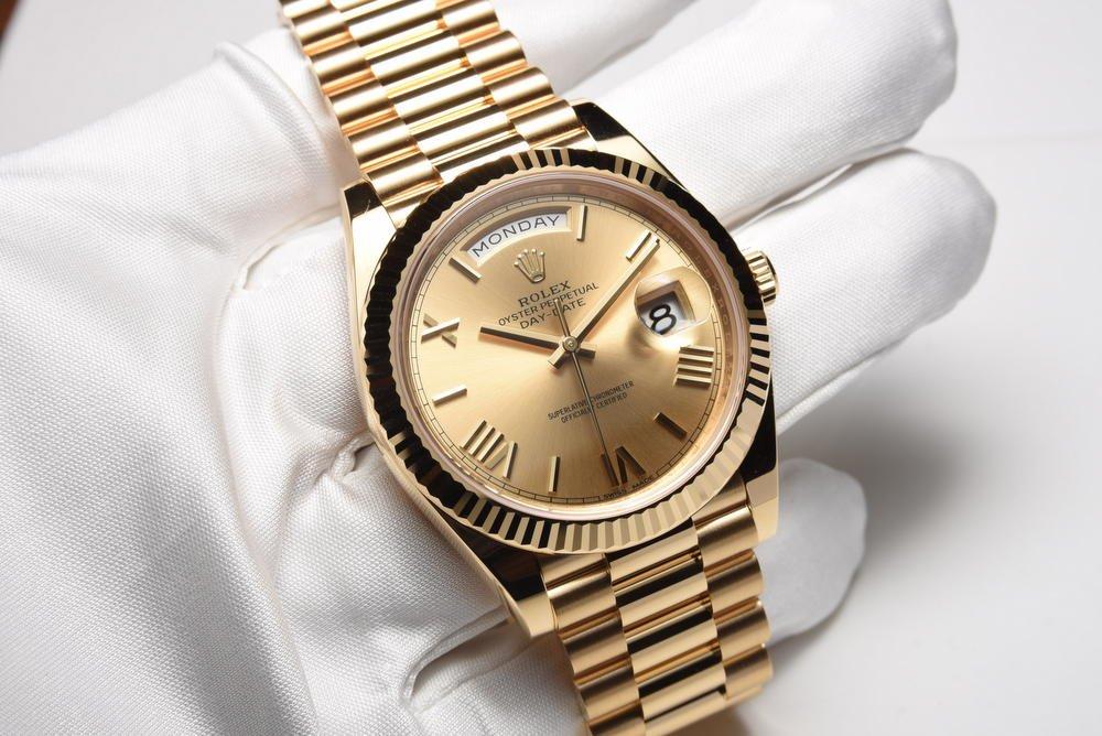 Đồng hồ Rolex Day-Date 40 – Sự hoàn hảo từ thiết kế đến bộ máy 3255