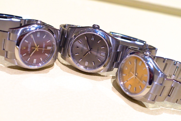 Những chiếc đồng hồ Rolex với các phiên bản mới sang trọng nhất!