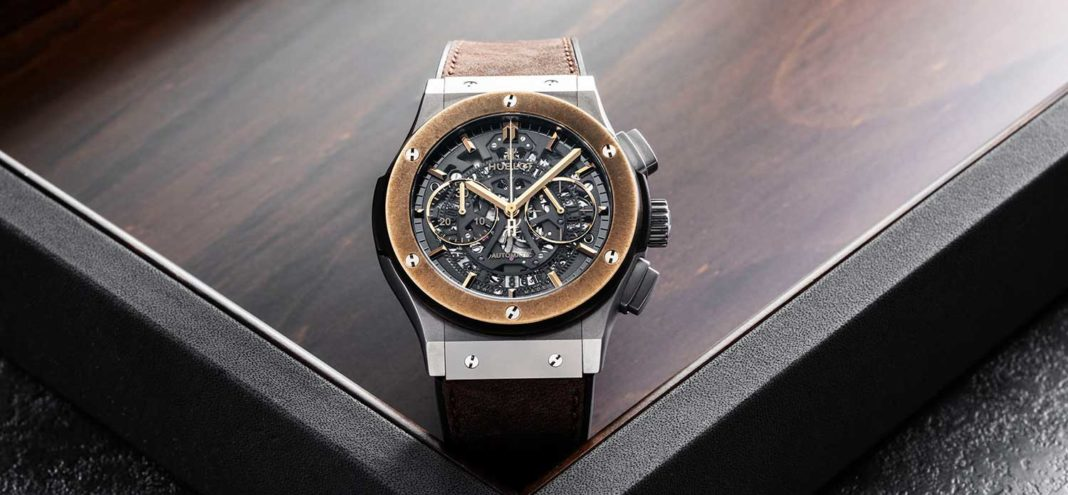 Sự đặc biệt của chiếc đồng hồ Hublot Classic Fusion Aero Chronograph