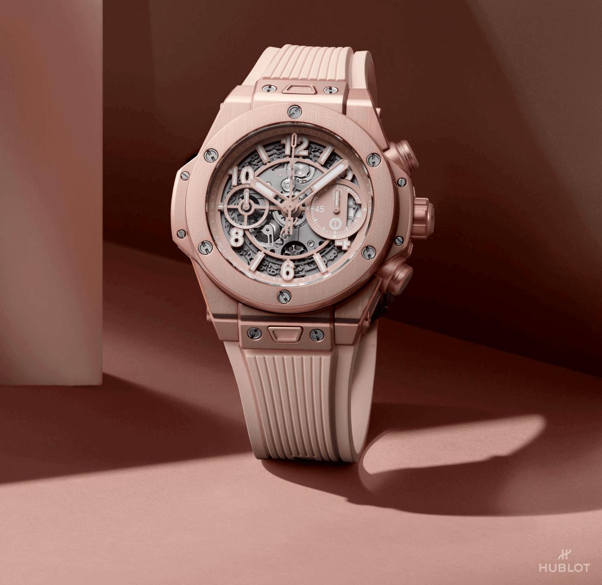 Đồng hồ Hublot Big Bang Millennial Pink sang trọng và độc đáo