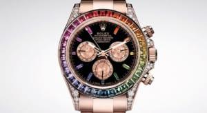 Rolex Cosmograph Daytona 'Rainbow' – đồng hồ màu mè nhất