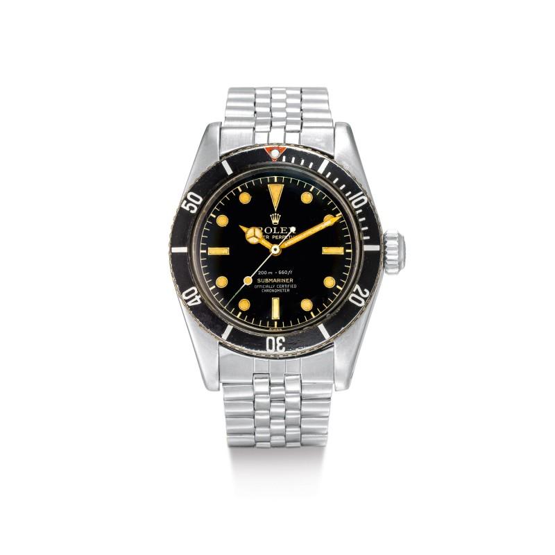 Tìm hiểu đồng hồ Rolex SUBMARINER 'BIG CROWN' Ref. 6538