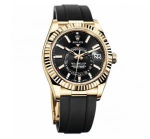 Giới thiệu đồng hồ Rolex Sky-Dweller với dây đeo Oysterflex thể thao