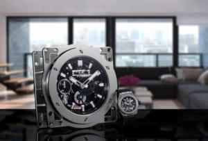 Hublot biến bộ máy MECA – 10 thành chiếc đồng hồ để bàn giá trị khủng