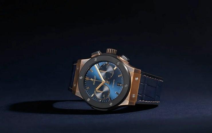 Đồng hồ Hublot Classic Fusion Bronze Bucherer Blue Edition