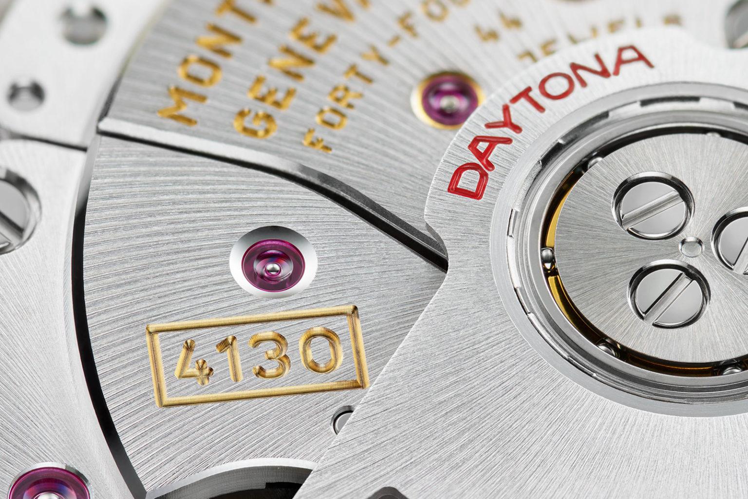Công nghệ cao trong bộ máy đồng hồ Rolex Daytona Cal. 4130