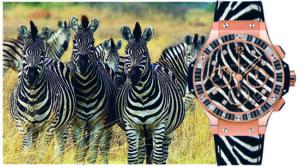 Ra mắt đồng hồ Hublot Big Bang Zebra họa tiết ngựa vằn