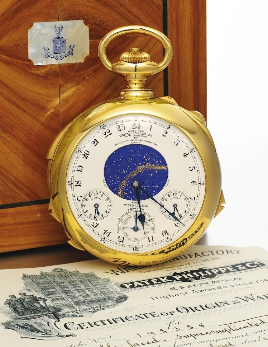 Đồng hồ Patek Philippe đắt nhất thế giới