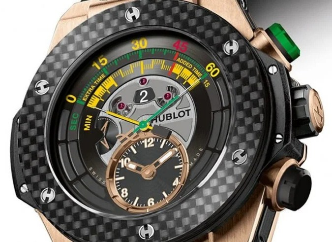 Hublot Big Bang Unico Bi-Retrograde Chrono – Đồng hồ của FIFA World Cup 2014