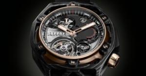 Đồng hồ Hublot Tourbillon Chronograph kỷ niệm 70 năm thành lập Ferrari