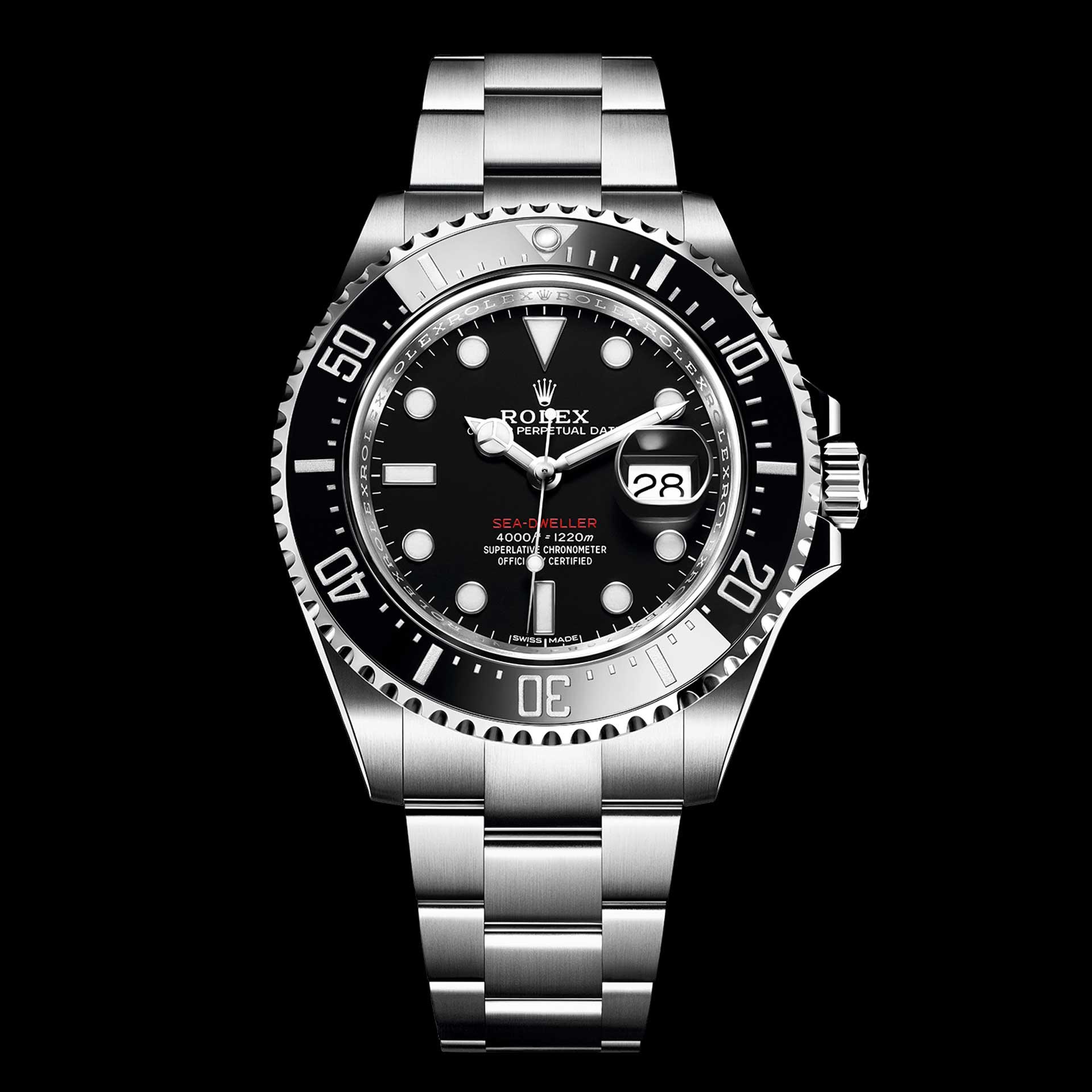 Cái tên đồng hồ Rolex Sea-Dweller được mã hóa như thế nào?