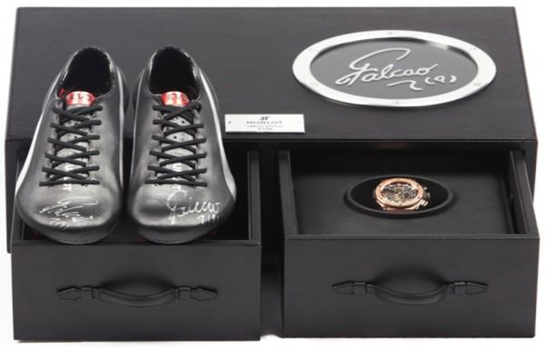 Hublot hợp tác với Puma để ra mắt đồng hồ và giày phiên bản giới hạn