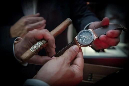 Đồng hồ Hublot ForbiddenX mặt số màu thuốc lá độc đáo
